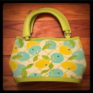 Lilly Pulitzer Lemon Lime Blueberry Purse